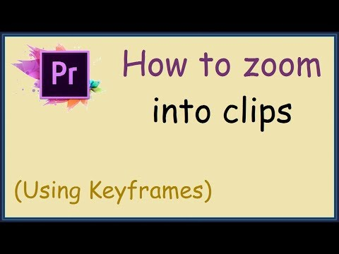 How to zoom into a section of your video in Premiere Pro