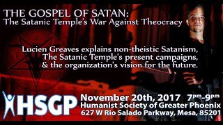 Lucien Greaves: Co-Founder Of The Satanic Temple - PakVim