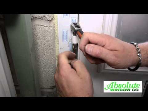 How To Adjust A Composite Door Hinge & Keeps