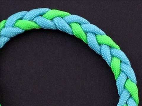 How to Make a 3-Strand Flat Braid (Adjustable Bracelet) by TIAT
