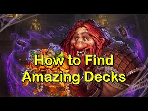 How to Find More Amazing Decks for Hearthstone