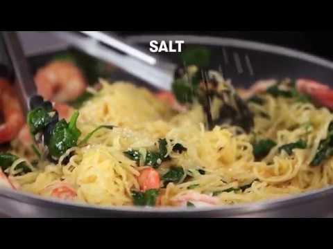 Spaghetti Squash Shrimp Scampi | Cooking Light