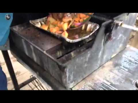 Rotisserie Beef Roast part 2