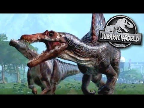 Spinosaurus Is Back!!! - Jurassic World Evolution