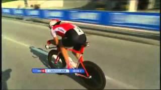 Fabian Cancellara champion du monde contre la montre.mp4
