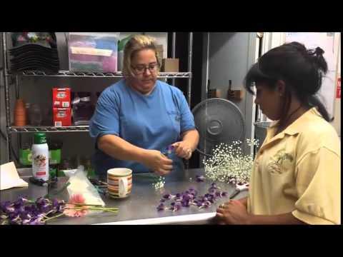 How to DIY a Bridal Flower Crown - Step by step tutorial!