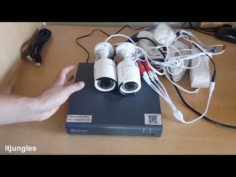 How to Connect Swann Security Camera DVR8-4575