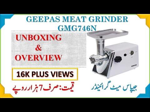 Geepas Meat Grinder Unboxing - GMG746N
