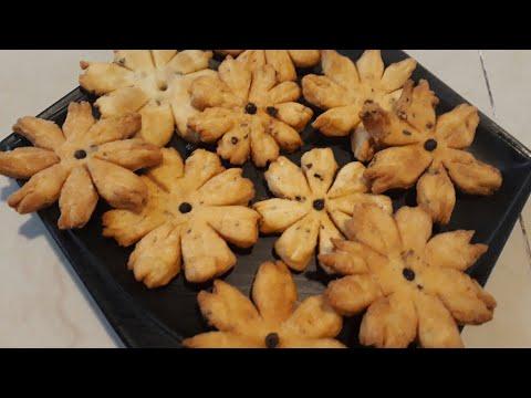   salted flower matri  flower namkeen matri   Namak Para  