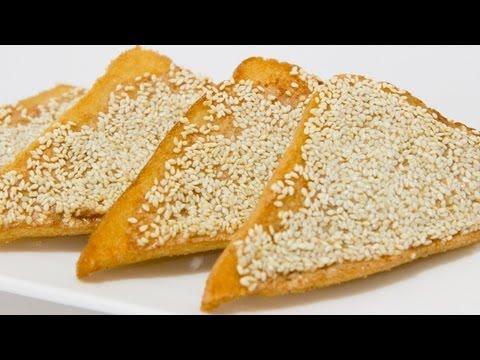 How To Make Prawn Toast - Chinese Video Recipe