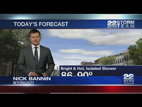Afternoon Video Forecast