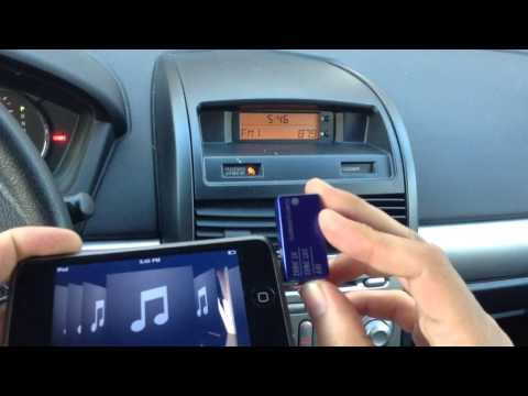 iPod FM Radio Transmitter - iPod Car Radio Adapter