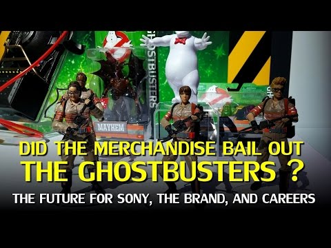 Ghostbusters: Box Office Fallout, The Impact of Merchandise, & Franchise Prospects
