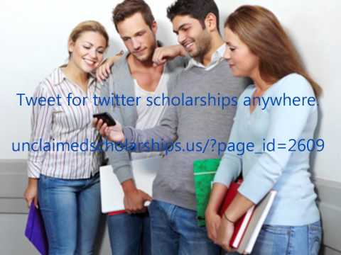 Tweeting for Twitter Scholarships