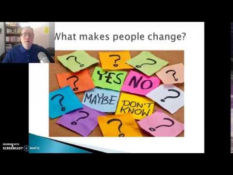 What Makes People Change