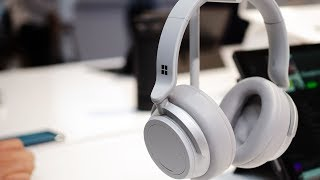 Microsoft Surface Headphones hands-on: noise-cancelling and Cortana