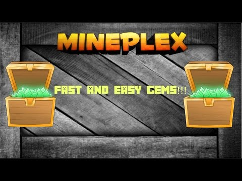 How To Get 16000+ Gems On Mineplex [Fast+Easy]