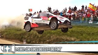 WRC RALLY DE PORTUGAL 2017 | HIGHLIGHTS | AMAZING SHOW, FLATOUT, JUMPS [FULL HD - PURE SOUND]