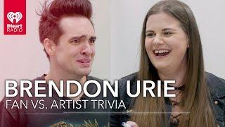 Brendon Urie Challenges Super Fan In Trivia About Himself | Fan Vs. Artist Trivia