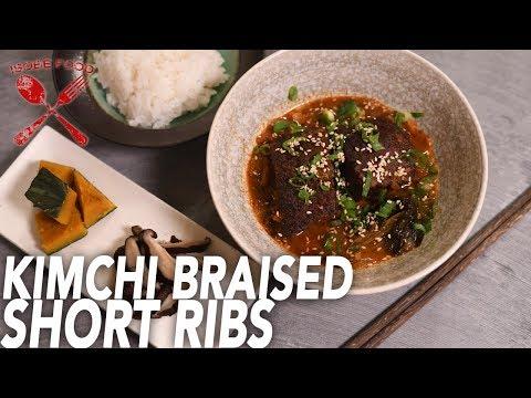 Kimchi Braised Short Ribs - Isobe Food