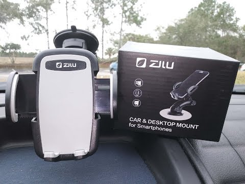 Zilu Car Phone Mount Windshield Car Phone Holder