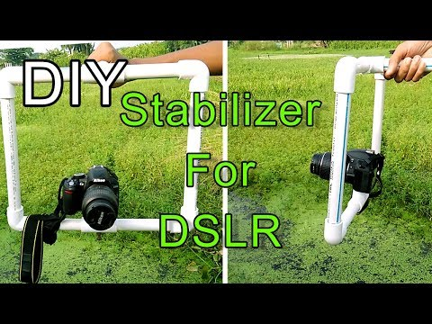 DSLR camera stabilizer for video shooting at cheap | how to make