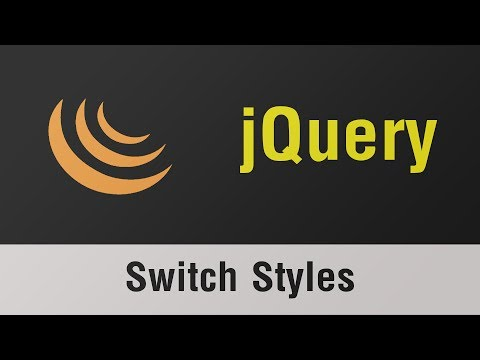 jQuery Arabic Tutorials - How To Switch Between Styles