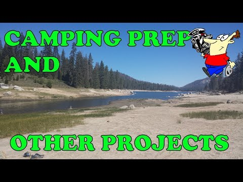 GOING  CAMPING! W/ PROJECTS