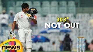 Karun Nair Triple Hundred Breaks History, Becomes First Indian To Score On Debut | Mango News