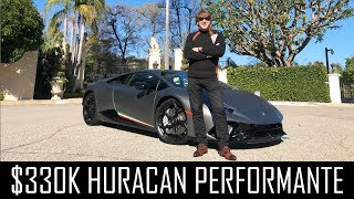 They want me to buy this $330,000 Huracan Performante!