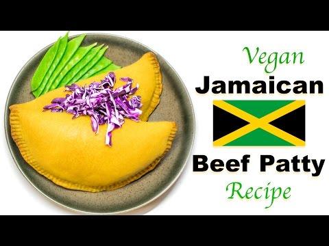 Vegan Jamaican Beef Patty Recipe