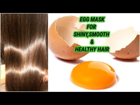 Egg Mask For Shiny Smooth Strong & Healthy Hair