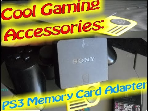 Cool Gaming Accessories: PS3 Memory Card Adapter