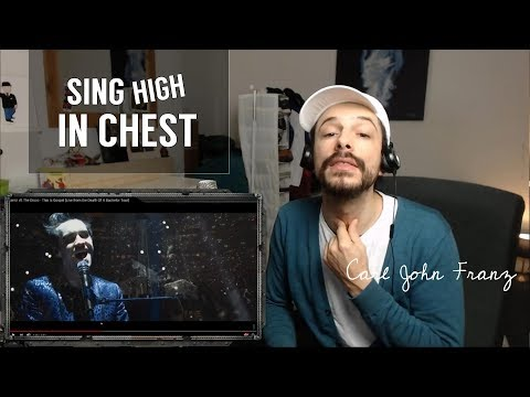 Sing high in CHEST voice (Brendon Urie SINGING tips..)