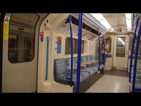 London Underground Victoria Line Ride: Euston to King's Cross 11 August 2017