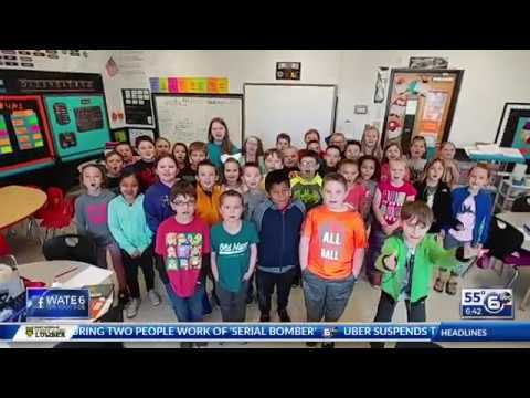 Union Heights Elementary School - Good Morning Tennessee