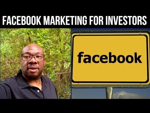 Facebook Marketing for Real Estate Investors 👍