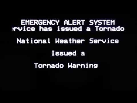 [ORIGINAL] - Emergency Alert System - Tornado Warning for Knoxville, TN (March 2, 2012)