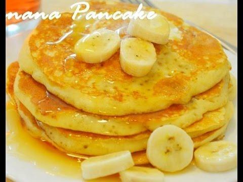 3 INGREDIENT BANANA PANCAKE RECIPE / HOW TO MAKE BANANA PANCAKE RECIPE