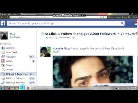 Facebook Auto Followers List 2014