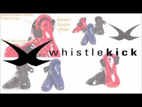 How to Put On & Wear whistlekick Sparring Gear Boots for Martial Arts Karate Taekwondo Kungfu