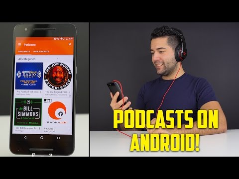 PODCASTS ON ANDROID! (Google Play Music)