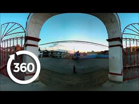 The Sunset Steps of Acazulco | Mexico City, Mexico 360 VR Video | Discovery TRVLR