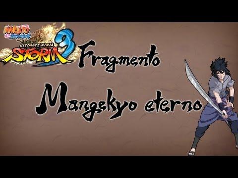 Naruto Shippuden: Ultimate Ninja Storm 3 Walkthrough + Full Burst - Fragmento Sasuke Uchiha Mangekyo Sharingan Eterno Epilogo Japones Español