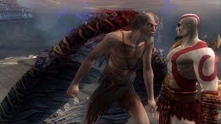 God of War 2 - Kratos vs Icarus & How Kratos Got Wings (4K HD 60fps)