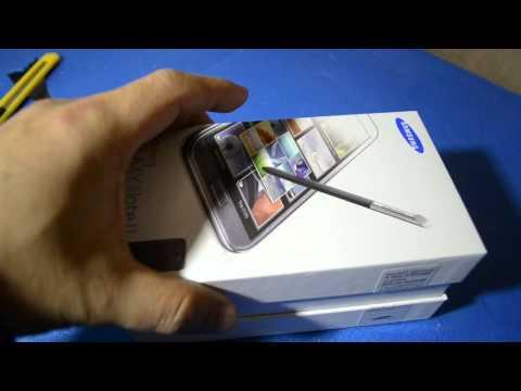 Samsung Galaxy Note 2 N7100 Unboxed