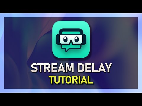 Streamlabs OBS - How to Add Stream Delay