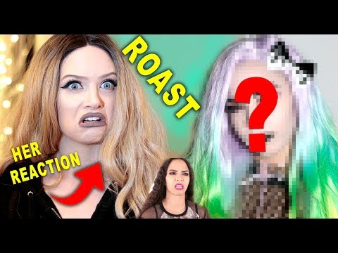 I Tried Following a Glam and Gore Makeup Tutorial ROAST (I went to her house)