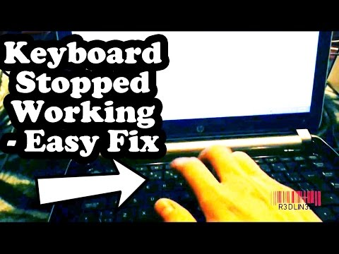 Keyboard Stopped Working Windows 8 - Filter Keys