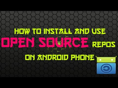 How to install and use open source repositories in android phone